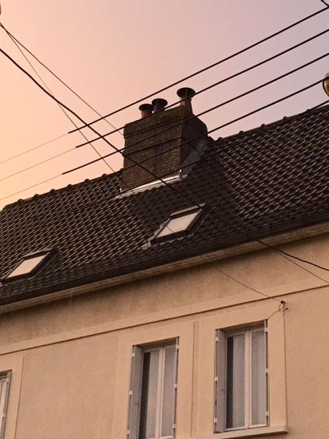 Etanchéité d'une cheminée à Oissel (76)
