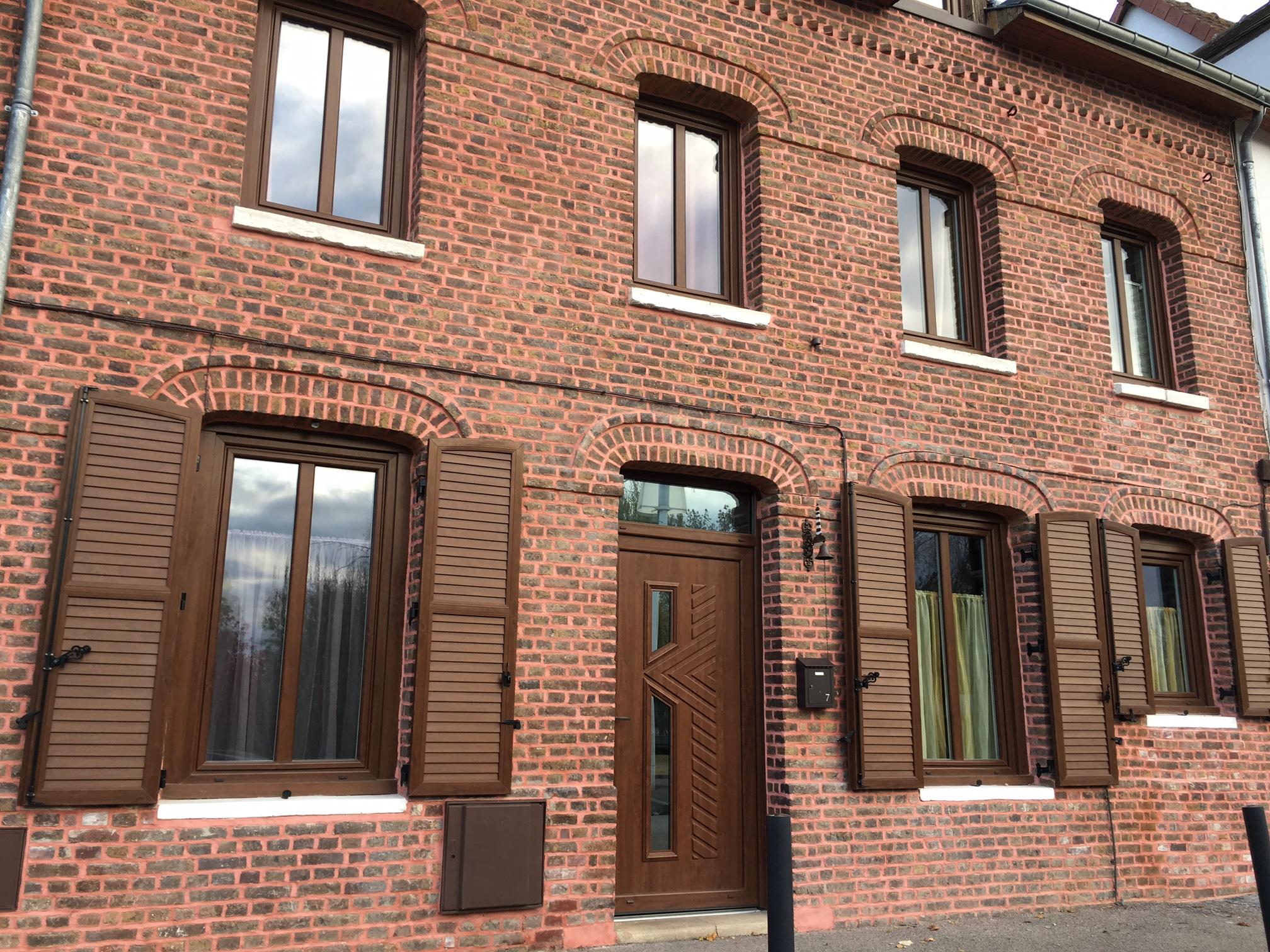 Fourniture et pose de fenêtre PVC et porte d'entrée sur Rouen Sud