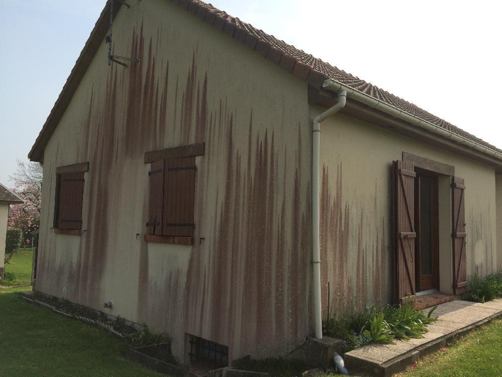 Nettoyage et décapage de murs à Montmain près de Rouen