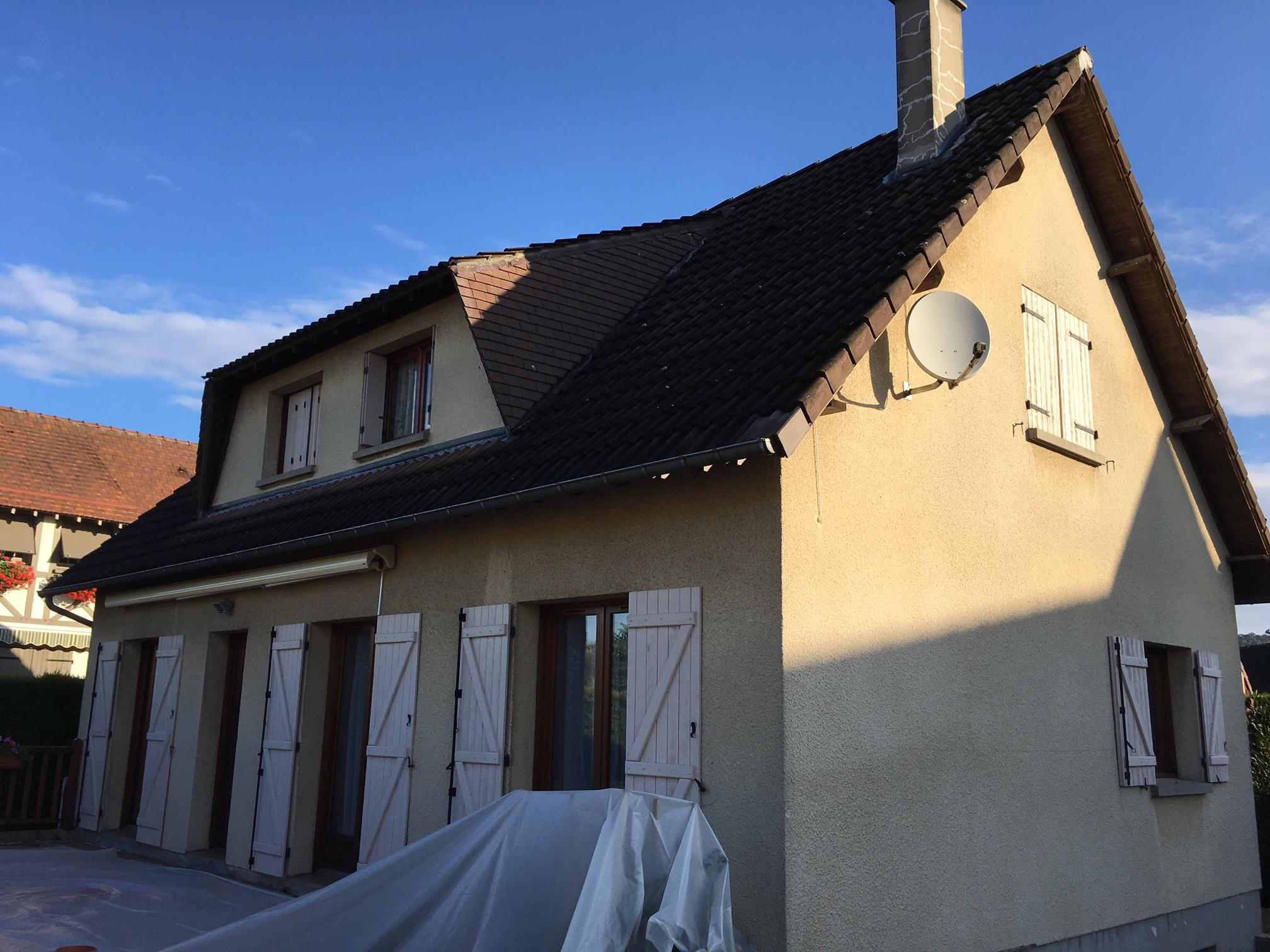 Nettoyage d'une couverture complète à Cleon (Rouen sud)