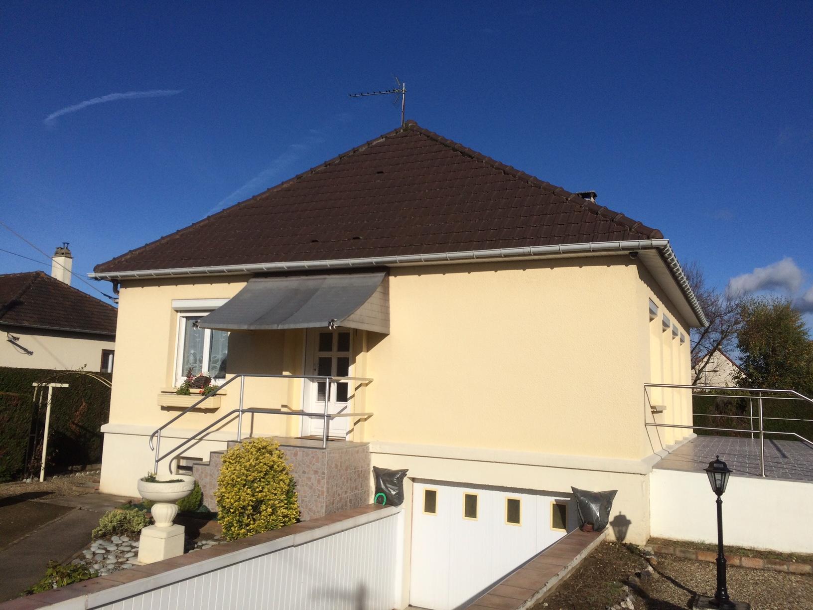 Nettoyage toiture à Courcelles sur seine près de Aubbevoye
