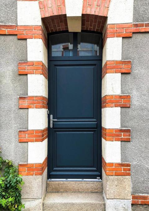Menuiserie porte extérieure bois Evreux