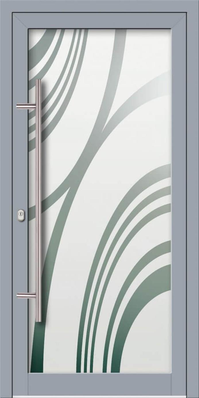 Porte entrée PVC Evreux