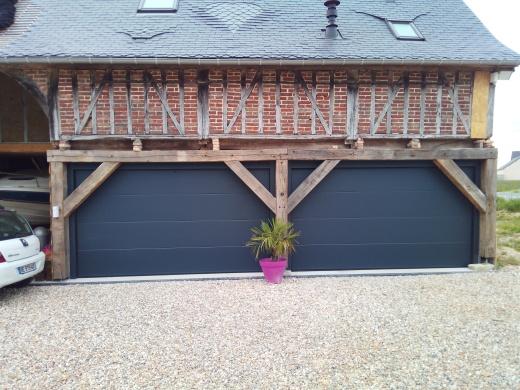 Installation de porte de garage près de Pont-Audemer (27)