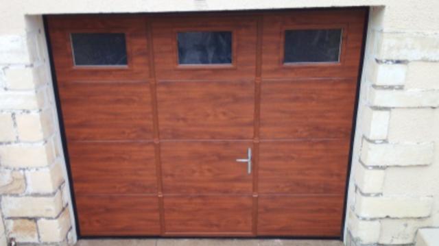 Fourniture et pose d'une porte de garage près de Rouen (76)