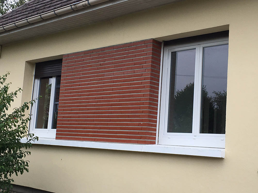 R novation et pose de fen tres pvc oknoplast belbeuf for Pose de fenetre renovation